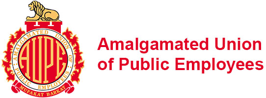 Amalgamated Union of Public Employes Logo